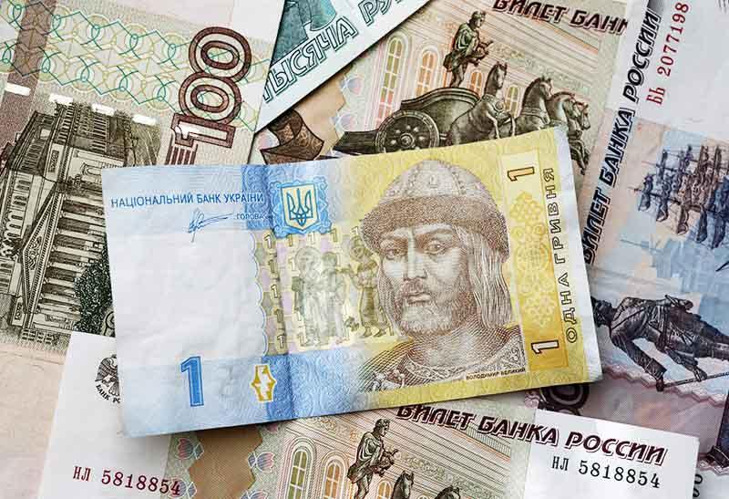 Курс рубля в Києві