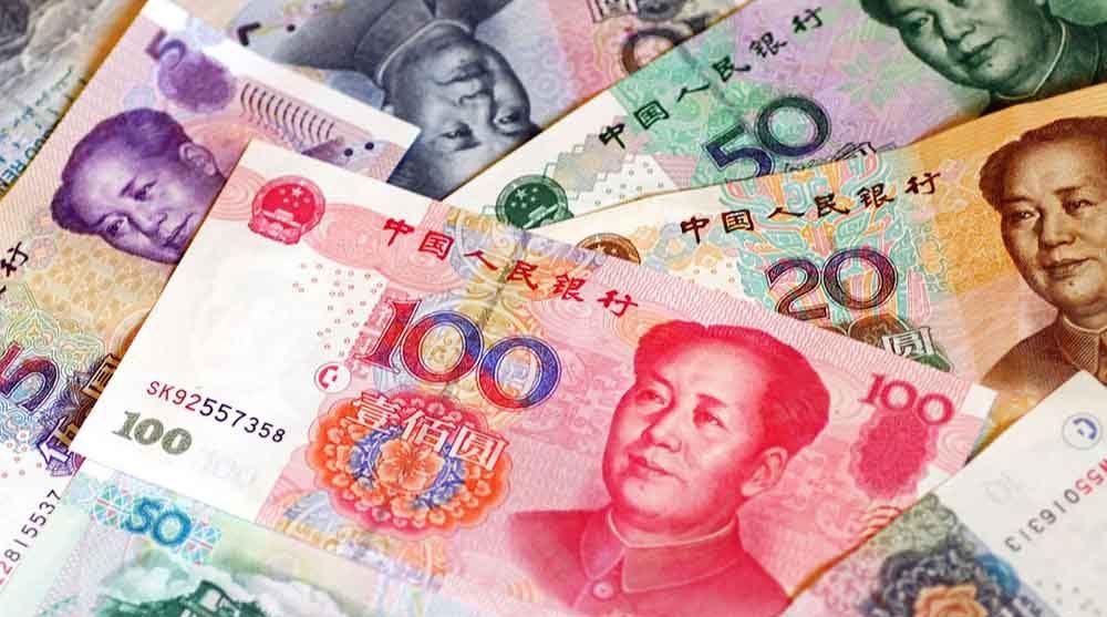 Курс китайського юаня до гривні