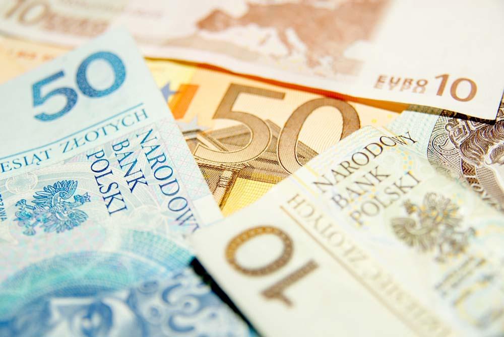 Обміняти євро злоті Києв