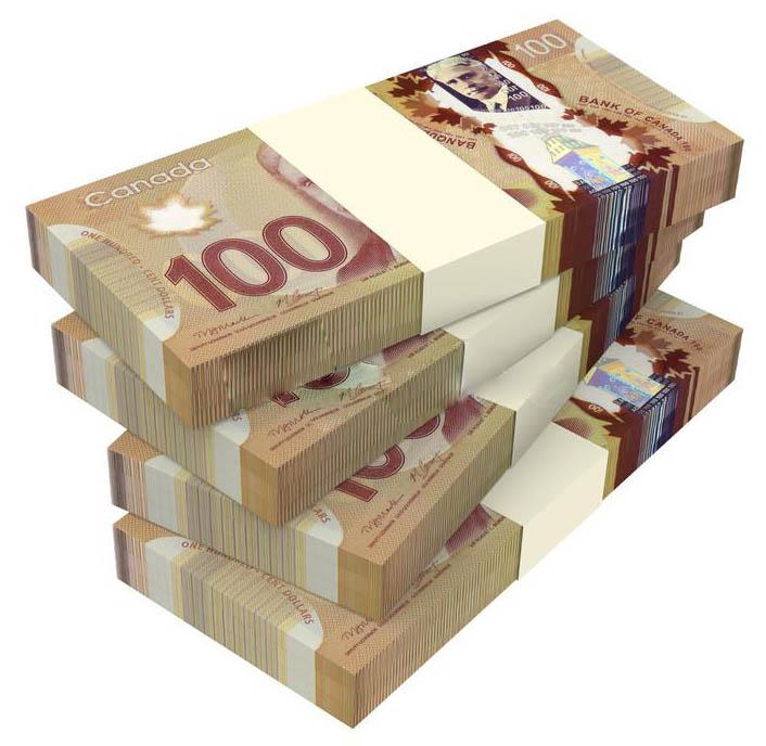 Канадський долар до гривні
