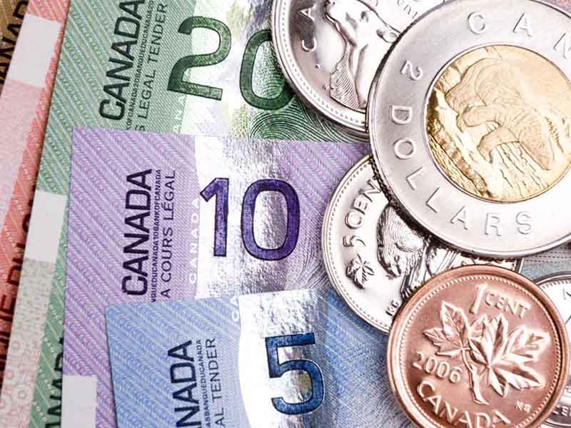 Обмін канадських доларів в Києві