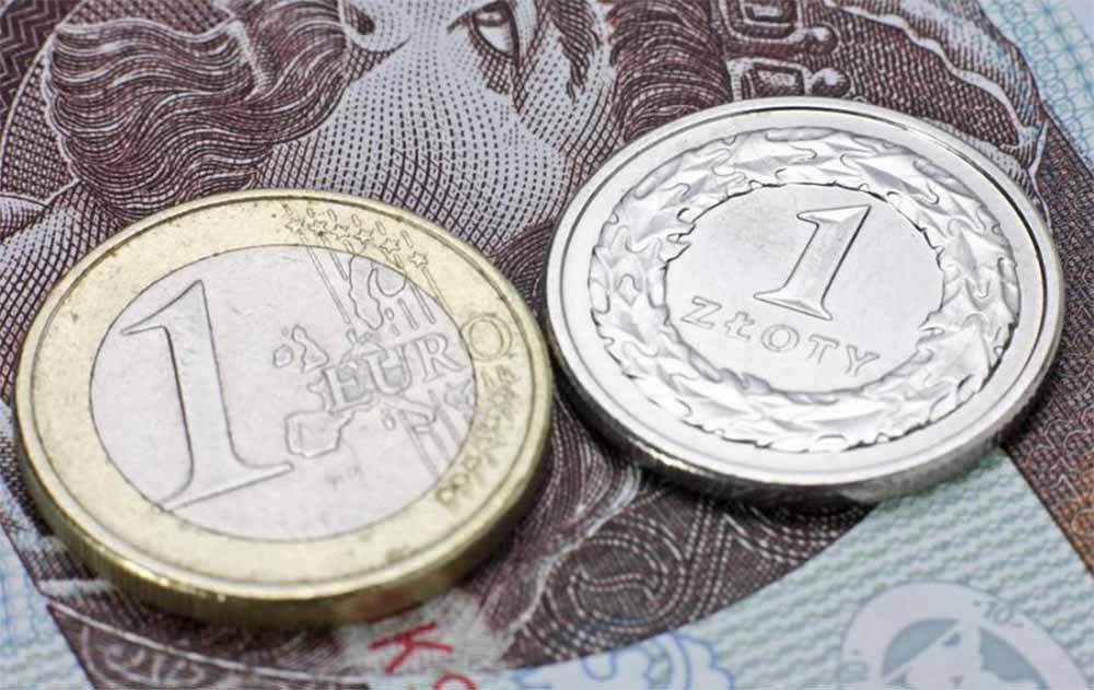 Курс обміну злотий євро Київ