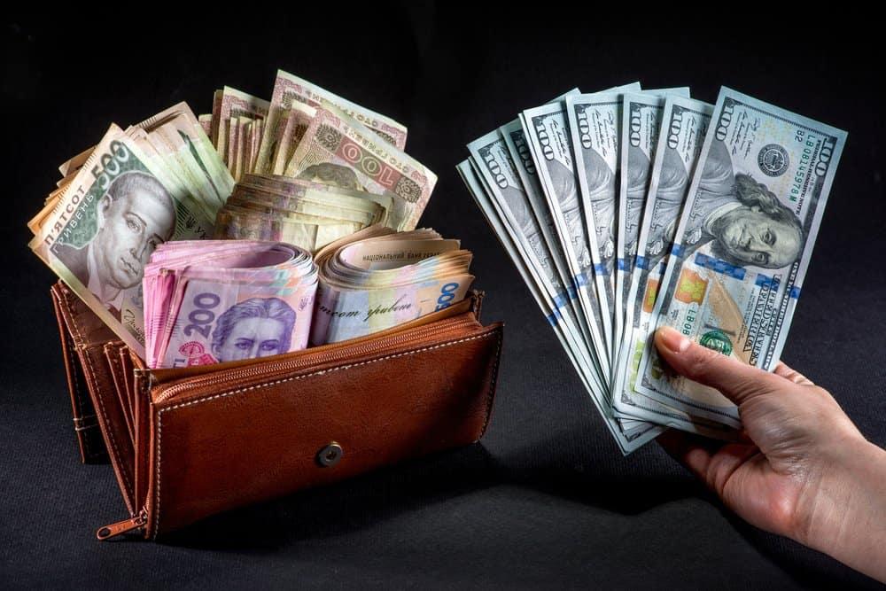 валютный курс в банках Украины