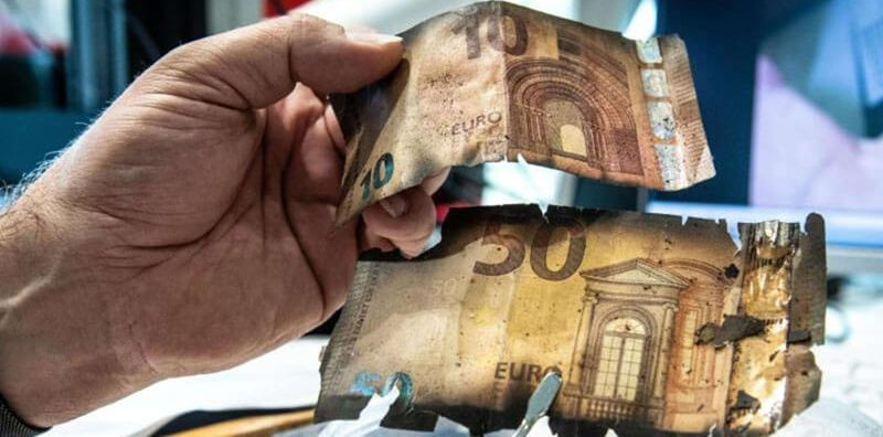 Замінити пошкоджені купюри у Києві
