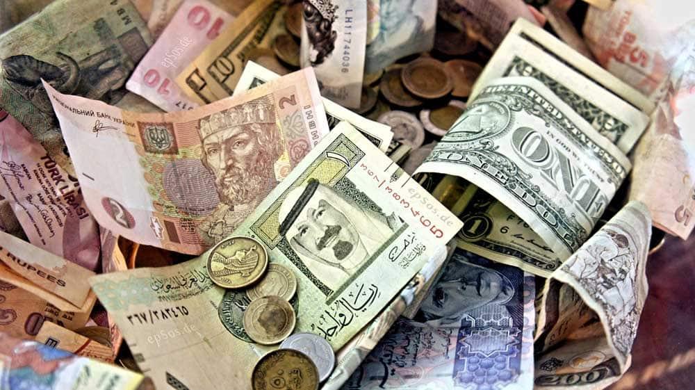 Курс валют в банках украинских