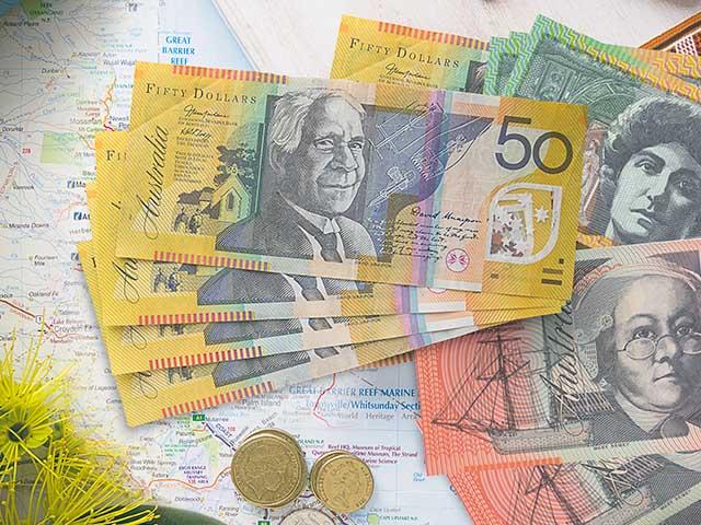 курс австралійського долара до гривні в Києві