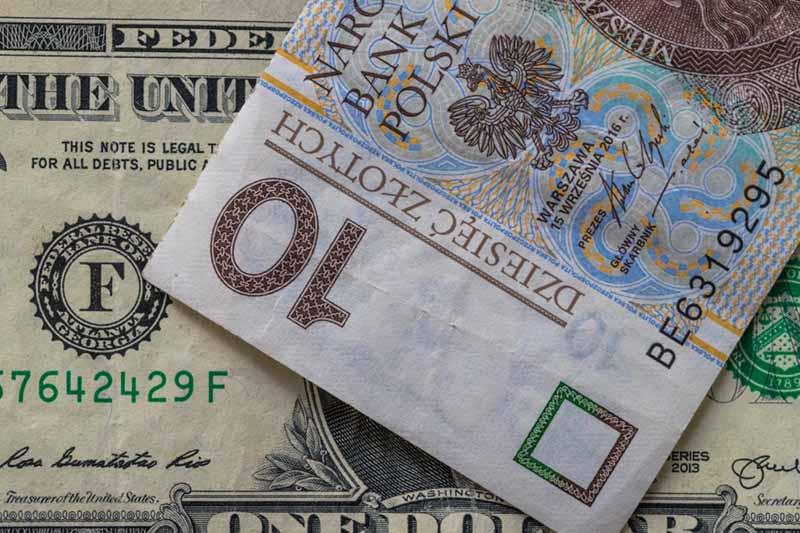курсу злотий-долар в Києві