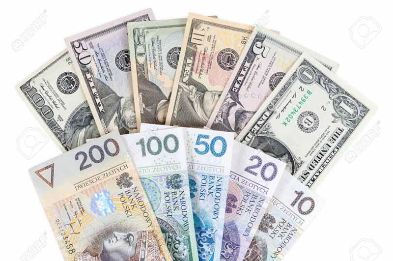курс обміну злотий-долар в Києві